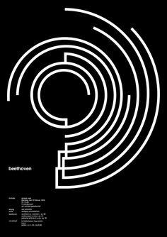 Jessica Svendsen, 2010 (versión del poster de Josef Müller-Brockmann de 1955)