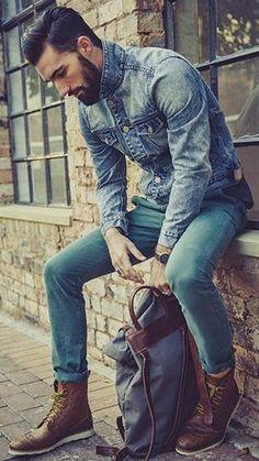 Macho Moda - Blog de Moda Masculina: Jeans e Bota Masculina, pra inspirar!