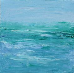 ocean paintings | Art: Ocean by Artist Lara Cazenave