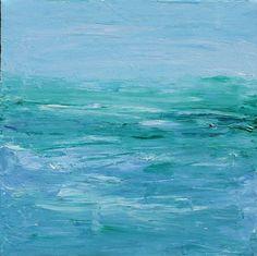 ocean paintings | Art: Ocean by Artist Lara Cazenave