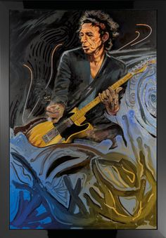 Ronnie Wood - The Blue Smoke Suite - Keith