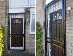 Residential Security, Security Gates, Door Gate, Security Solutions, Back Doors, Doorway, Commercial, Beautiful, Design