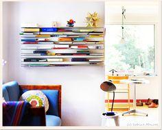 Psynopsis Interior Design Horizontal Book Shelf
