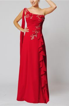 Red Sexy Sheath Backless Floor Length Paillette Evening Dress