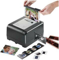 Pacific Image ImageBox Film/Slide/Photo To Digital Scanner Digital Scanner, Gadgets, Printer Scanner, Photo Printer, Shutter Speed, Taking Pictures, Computer Accessories, Old Photos, Tecnologia