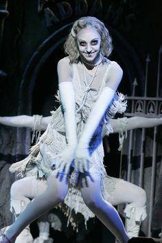 Addams Family Musical makeup