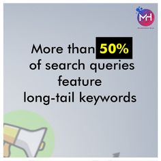 Half of all search queries are long-tail keywords. That means if your keyword/user intent strategy isn't targeting these terms, you're missing about half of your audience and half of your potential leads. Long-tail keywords represent a strategic segment of your audience, potentially the more qualified 50%.  #SEO #seotips #seomarketing #seoservices #seoproblems #seoexpert #seoconsultant #seostrategy #SEOtools #seocompany #seoagencymalad #seoservicesmumbai #SEOservicesindia #seoagency