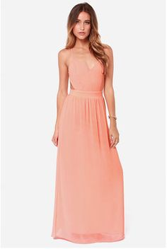 $49  http://www.lulus.com/products/lulus-exclusive-rooftop-garden-backless-peach-maxi-dress/76882.html