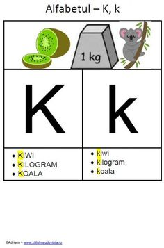 K 1, Speech Therapy, Activities For Kids, Alphabet, Playing Cards, Education, Tattoos, Speech Language Therapy, Rome