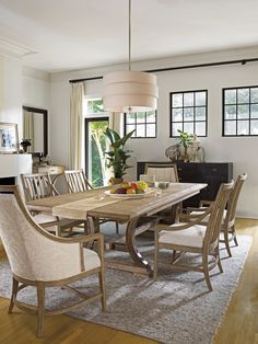 Dining Room Furniture - Shelter Bay Table - Weathered Pier