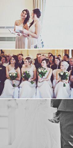 Bridesmaid bant.