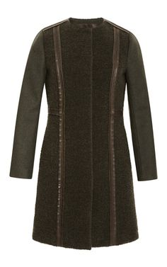 Tory Burch Fall 2014 Heather Coat on Moda Operandi