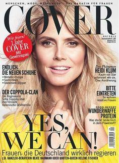 Sofia Coppola, Heidi Klum, Elle Marie, Star Wars, Blonde Women, Cover Model, September 2013, Esquire, Saturday Night