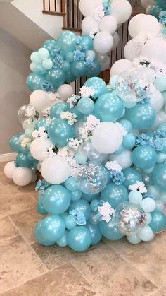 Balloon Arch Diy, Balloon Flowers, Balloon Bouquet, Balloon Garland, Balloon Backdrop, Balloon Columns, Birthday Balloon Decorations, Birthday Balloons, Birthday Party Decorations