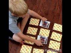 DIY Memory Game with HP Instant Ink #sponsored #NeverRunOut