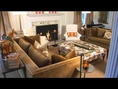 Give your space a designer look without paying designer prices. Jennifer Adams has easy, and budget-friendly, tips for transforming your living room.