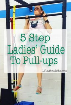The 5 Step Ladies' Guide To Pullups #pullups #strength