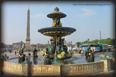 """Stroll through Paris' Place de la Concorde. Find out more at """"Down the Wrabbit Hole - The Travel Bucket List"""". Click the image for the blog post."""
