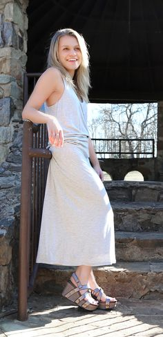 86320cdb9051 Style your OTBT SAIL wedges with a casual spring dress for a soft