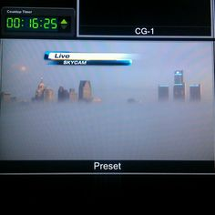 Murky Monday morning in the Motor City!