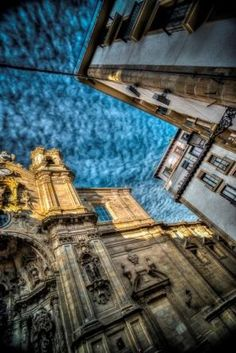 """Santa Maria Church HDR"", by Garrett Kolodin taken at San Sebastian, Spain"