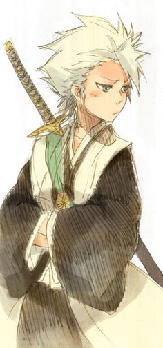 Toshiro Hitsugaya - Amazing Beautiful Artistic Skills <3!!