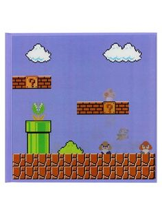 If you are a Mario Bros super fan, then this lenticular 3D motion notebook from Nintendo is perfect for jotting down your daily notes. Featuring the video game hero as he leaps over a 'Goomba' to reveal a 'Super Mushroom' above him. Have fun playing around with this while making your important notes. Official Merchandise. Free UK Delivery on orders over £50