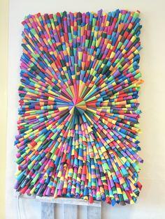Creatief met papier bij Kinderopvang Meijel