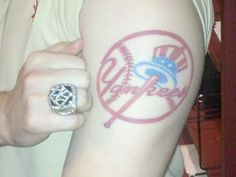 Keith's Yankee Tattoo