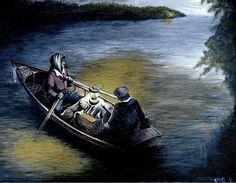 William Walts Bootleggers Run Painting  - Bootleggers Run Fine Art Print