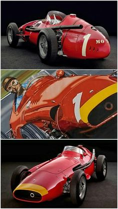 Fangio - 1957 German GP - Maserati 250F.  Juan Manuel Fangio's epic win at the Nürburgring in 1957 is perhaps the greatest race in the 62-year history of Formula One.  Fangio came from way behind in a four-year-old Maserati 250F to beat Ferrari's Peter Collins and Mike Hawthorn to claim both his last Grand Prix win and his last world title. #Fangio #Nurburgring #Maserati250F