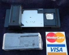 Bartizan point of sale manual credit card imprinter Card Machine, Back In My Day, My Childhood Memories, 1970s Childhood, I Remember When, Classic Tv, My Memory, The Good Old Days, Vintage Advertisements