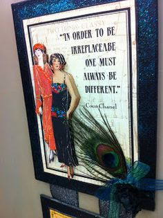 Ben Franklin Crafts and Frame Shop, Monroe, WA: 3D Wall Hanging | Graphic 45 COUTURE Paper
