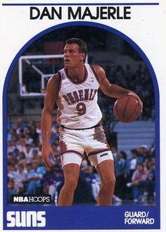 RARE ROOKIE 89/90 NBA HOOPS DAN MAJERLE PHOENIX SUNS MINT