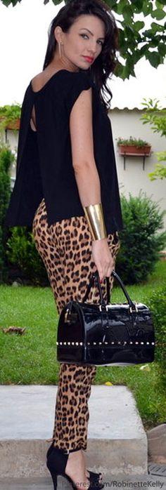 Street Style | Leopard