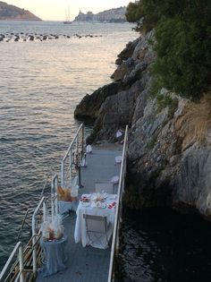 On a Portovenere dock