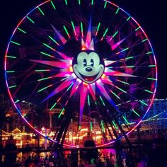 Hopefully I will get to ride into this ferris wheel this week there in California