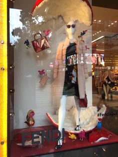 LK By Lincoln Keung - FENDI Window Display - The Harbour City - Hong Kong