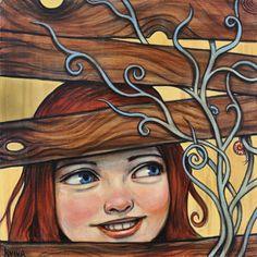 """""""Laughter Echoes"""" par Kelly Vivanco"""