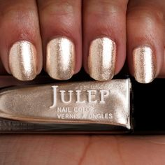 Julep Sienna: Sophisticated, shimmery gold