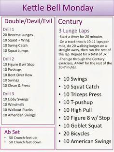 KB Workout - 2 Sets