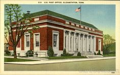 U.S Post Office ,Elizabethton, Tenn Tennessee