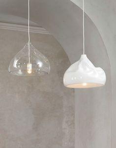 Direktlicht Pendelleuchte aus mundgeblasenem Glas INHALE LAMP - Lasvit