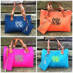 Y'all loved our other Anna Kate Bags so guess what?!? We got them in more colors, just for you all!!!! Navy, Hot Pink, Orange, and Turquoise!! $69.99! SO ADORABLE and PERFECT for the up and coming warm weather!! They're going to go super fast so hurry and get yours right now!! Can be monogrammed for $30 more!! #southernfriedchics