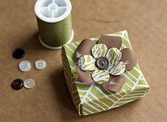 Origami box.