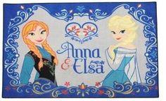 Speelkleed Frozen Anna en Elsa 95x133