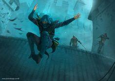 A thief's tale..., por Jorem Temática General/ Fantasía | Dibujando.net