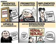"""The history of """"Obamacare"""""""