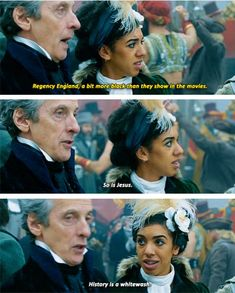 The Doctor calling out whitewashing Doctor Who 12, Doctor Who Funny, 12th Doctor, Geronimo, Twelfth Doctor, Don't Blink, Torchwood, News Health, David Tennant