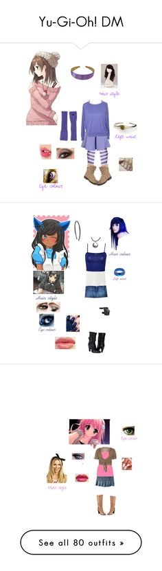 """Yu-Gi-Oh! DM"" by fangirl-of-seto-kaiba on Polyvore featuring Mikasa, BKE, Kate Spade, Chicwish, Roxy, WigYouUp, Charlotte Tilbury, Avon, 7 For All Mankind and Uniqlo"